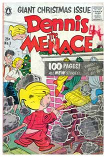 Dennis the Menace, by Al Wiseman