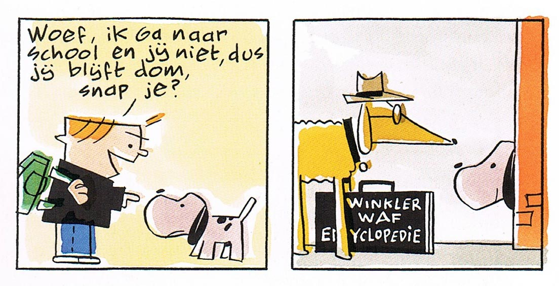 Woef en Wimpie by Peter de Wit