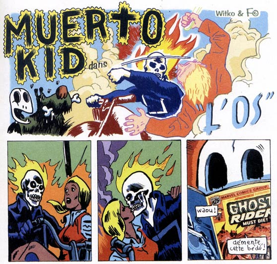 Muerto Kid, by Witko
