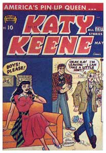 Katy Keene, by Bill Woggon