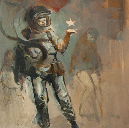 Astronaut by Ashley Wood
