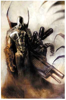 Cover for Hellspawn, by Ashley Wood