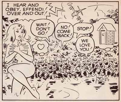 Sally Forth, by Wallace Wood (1968)
