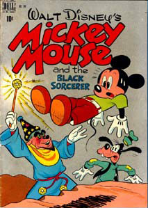 Cover of Mickey Mouse, by Bill Wright