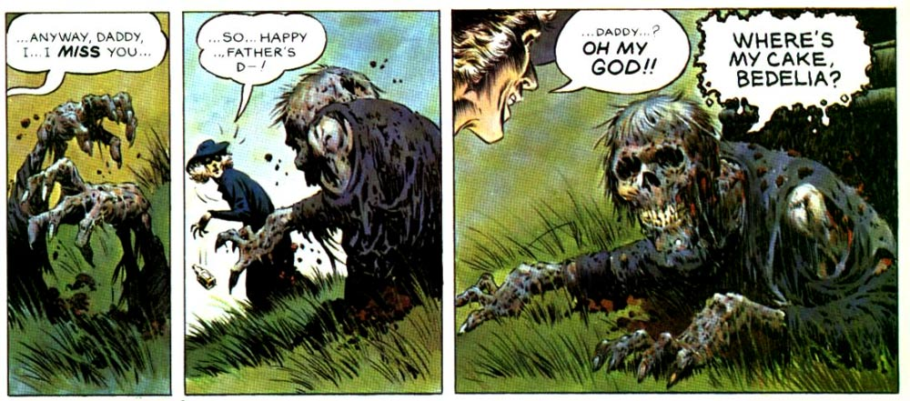 comic art by Berni Wrightson