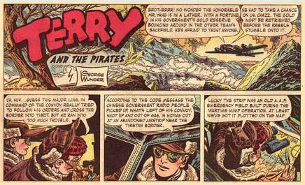 Terry and the Pirates, by George Wunder (1950)