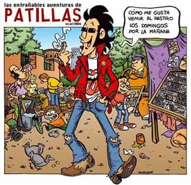 Patillas, by Xcar