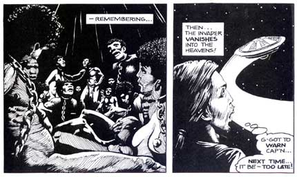 Alien Encounters, by Thomas Yeates (1981)