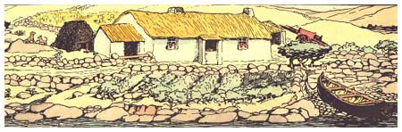 Cottage, by Jack Yeats