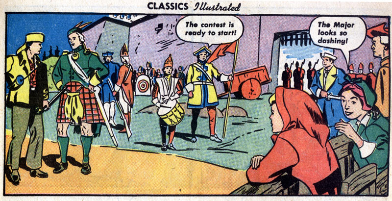 Classics Illustrated, by Louis Zansky