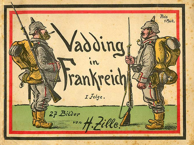 Vadding in Frankreich by Heinrich Zille