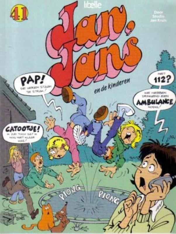jan, jans en de kinderen 41 - jan, jans en de kinderen comic book sc