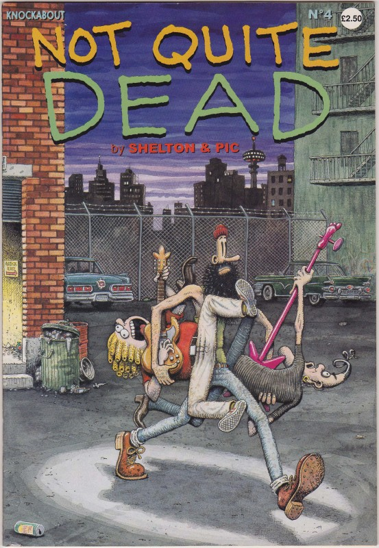 Not quite dead Tome 1 - Gilbert Shelton, Pic