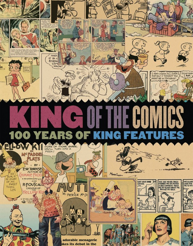 100 years of king features King of the Comics by artist, various
