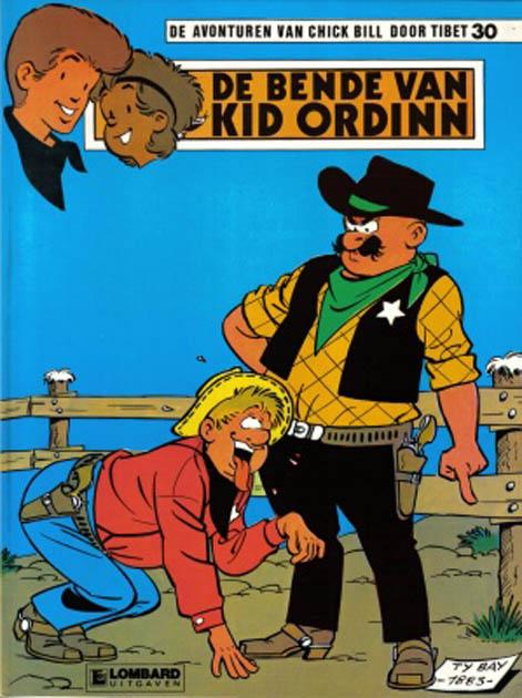 De Bende Van Kid Ordin - Chick bill Strip sc by Tibet from series \ Chick bill\    Lambiek Comic Shop & De Bende Van Kid Ordin - Chick bill Strip sc by Tibet from series ...