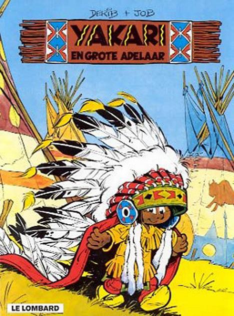 yakari en de grote adelaar  yakari vol1 comic book sc