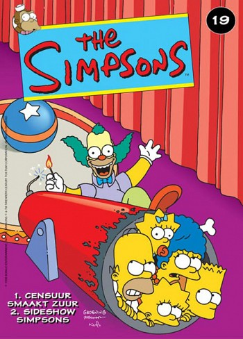 19 Censuur Smaakt Zuur / Sideshow Simpsons