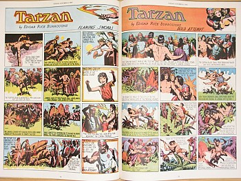 Burne Hogarth's The Golden Age of Tarzan, 1939-1942