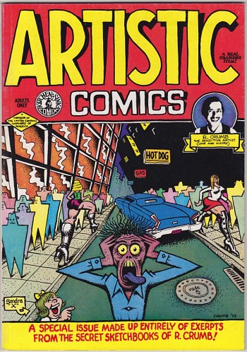 Artistic Comics - A special issue made up entirely of exerpts from the secret sk