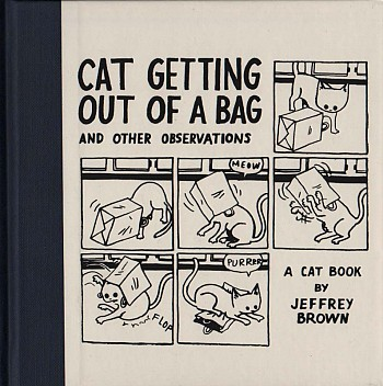 Cat Getting Out of a Bag