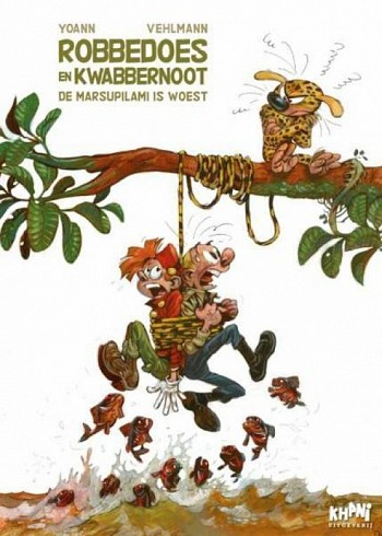 de Marsupilami is woest