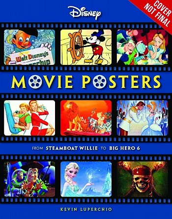 Disney Movie Posters - From Steamboat Willy to Inside Out