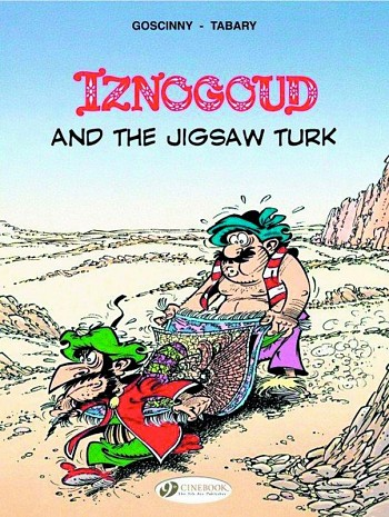 Iznogoud and the Jigsaw Turk
