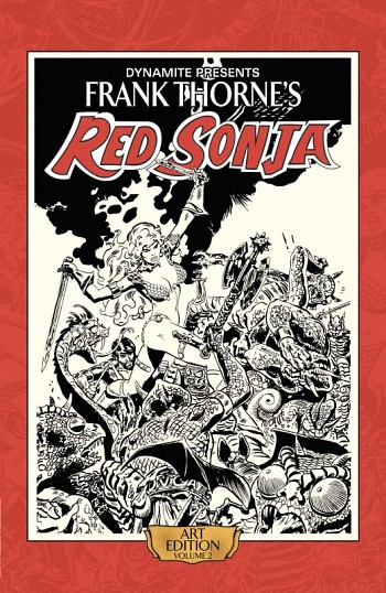 Red Sonja Art Edition