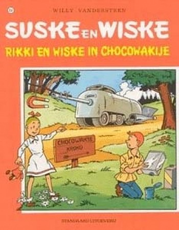 Rikki En Wiske In Chocowakije (Oude Cover)