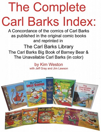 The Complete Carl Barks Index