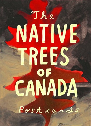 The native trees of Canada Post Card Set