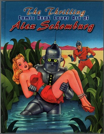 The Thrilling Comic Book Cover Art of Alex Schomburg